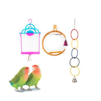 Kit de Columpios Juguetes para Aves