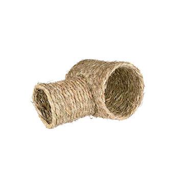 Casa T de fibra vegetal para Roedores
