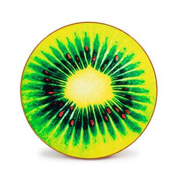 Manta Refrescante Redonda Diseño de Frutas