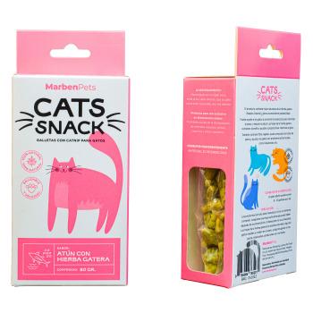 Cats Snack Galletas Con Hierba Gatera Sabor Atún