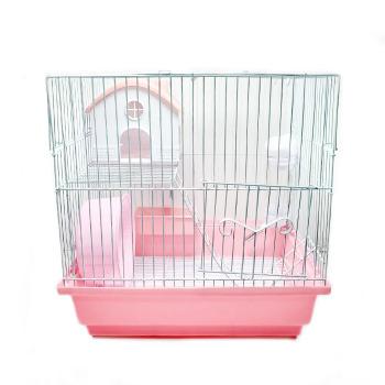Jaula Hamster 2 Niveles Equipada