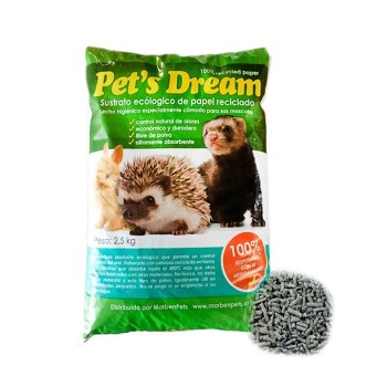 Viruta Sustrato de papel Pets Dream