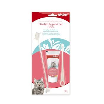 Bioline Kit Dental Cat Para Higiene