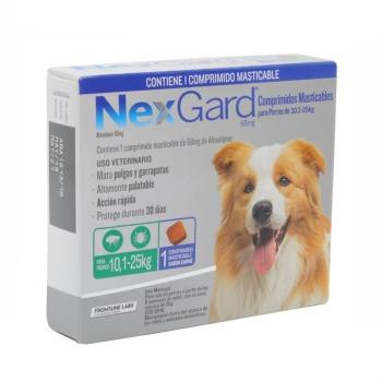 Nexgard Antiparasitario 1 Comprimido 10,1 a 25 KG