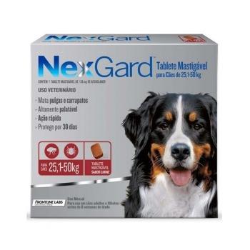 Nexgard Antiparasitario 1 Comprimido 25,1 a 50 KG