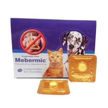 Mebermic Antiparasitario Interno Para Perro y Gato