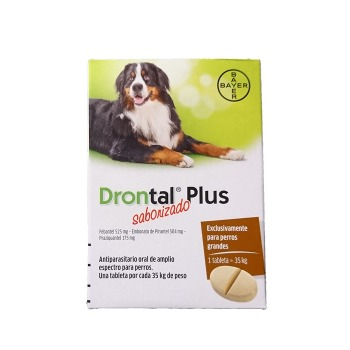 Drontal Plus Antiparasitario interno 35 KG