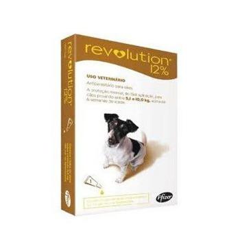 Pipeta Revolution Antiparasitaria 5,1 a 10 KG