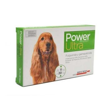 Pipeta Antiparasitaria Power Ultra 11 a 20 KG