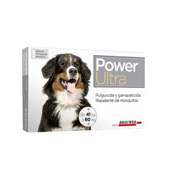 Pipeta Antiparasitaria Power Ultra 41 a 60 KG
