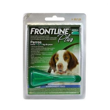 Pipeta Frontline Plus de 10 a 20 KG