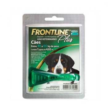 Pipeta Frontline Plus de 40 a 60 KG