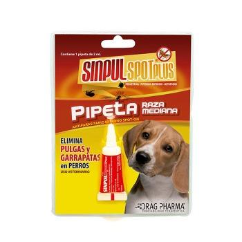 Sinpul Spot Plus Pipeta Para Perros Hasta 15 Kg
