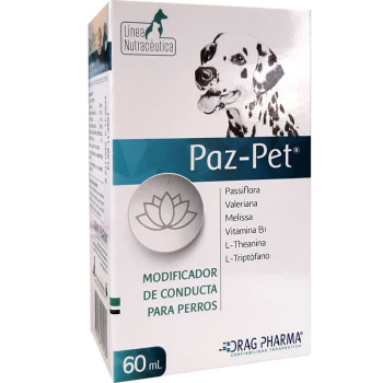 Paz Pet Modificador De Conducta y Tranquilizante
