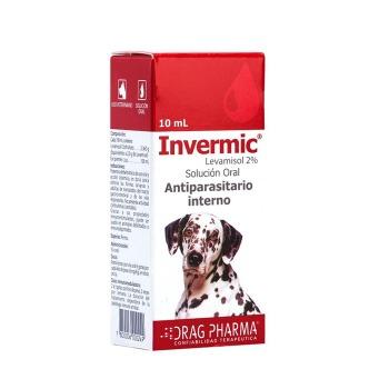 Invermic Antipartasitario Solucion Oral Perro